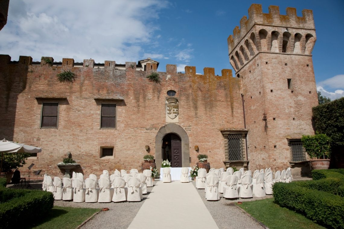 Tuscan Castle Wedding
