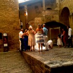 wedding in San Gimignano