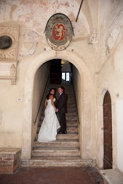 wedding in Pienza