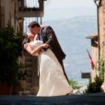 wedding in Pienza