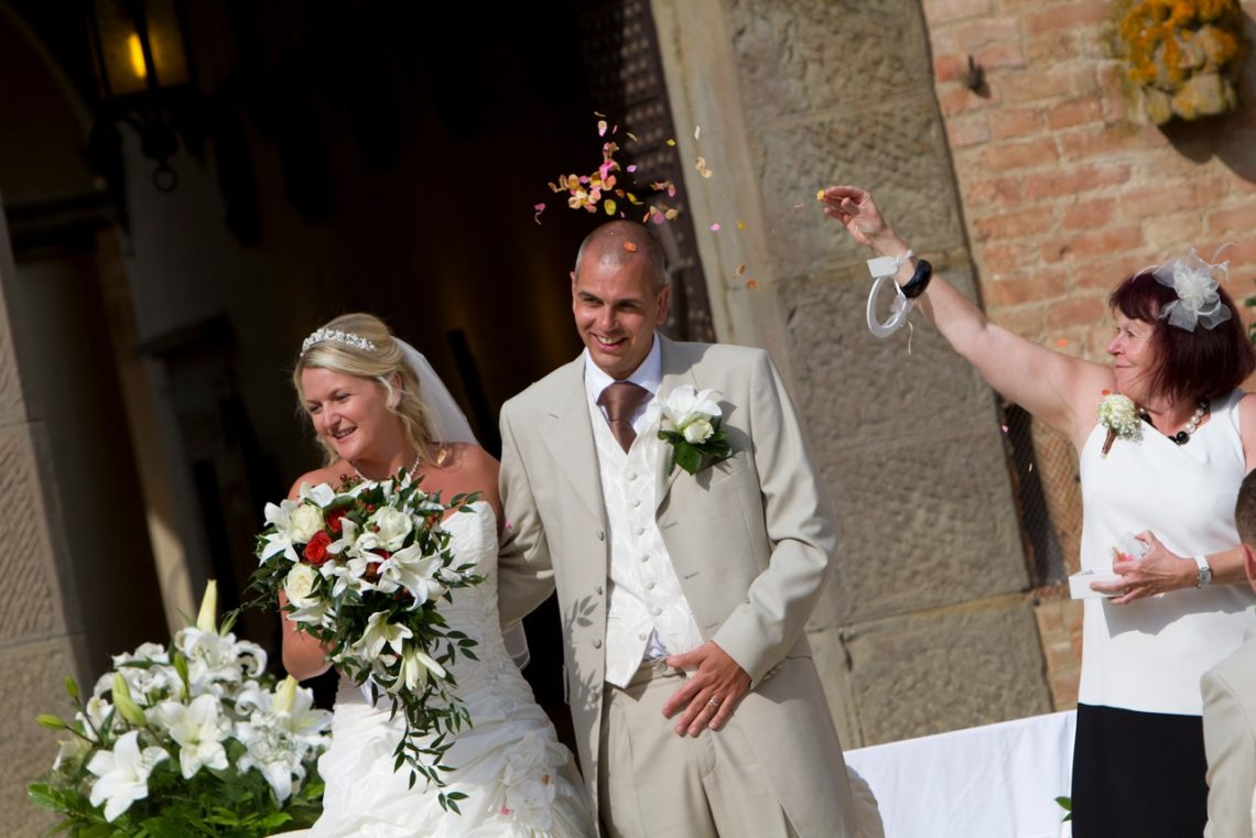 Tuscan Castle Wedding