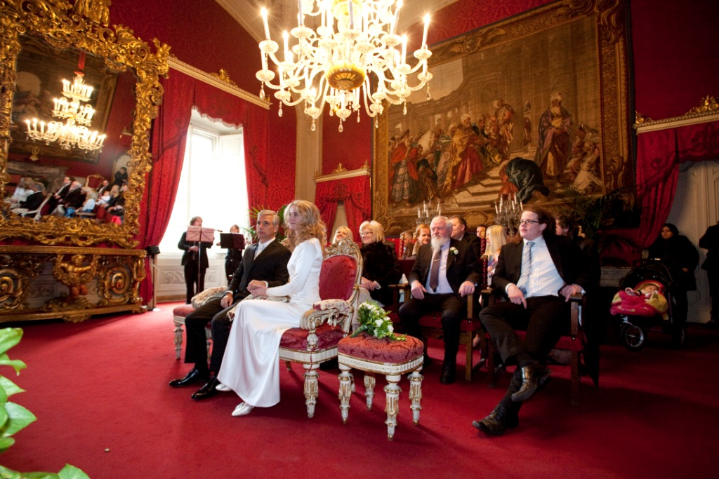 Wedding in Florence _Red Hall