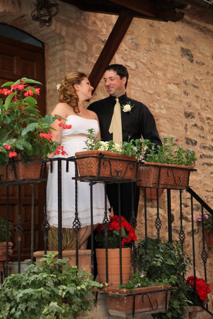 Wedding in Spello