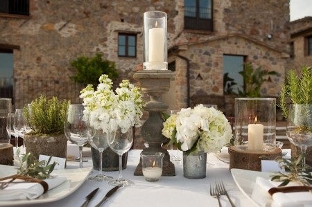 country chic wedding table