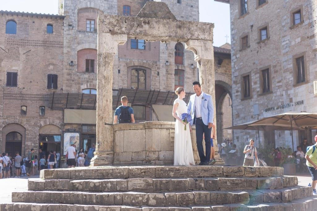 San Gimignano real Wedding!
